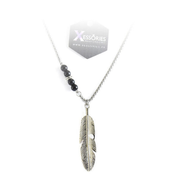 Deluxe Feather Necklace in Pakistan by xessories.pk shop online