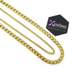 golden miami cuban chain in pakistan shop online with xessories