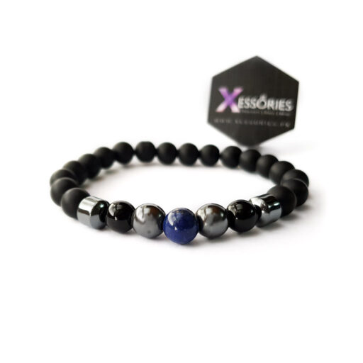 the balance blue stone bead bracelet in pakistan by xessories