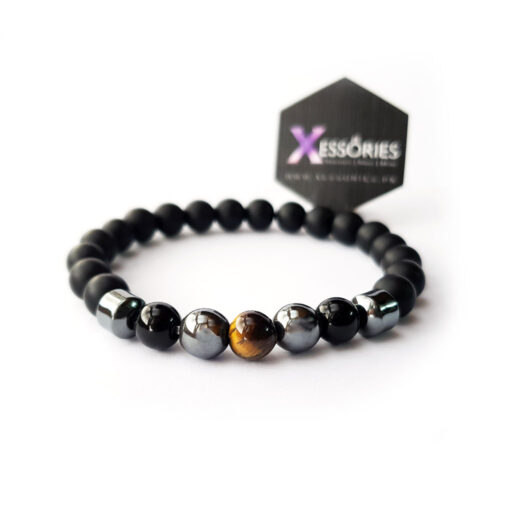 the balance tiger eye stone bead bracelet in pakistan by xessories