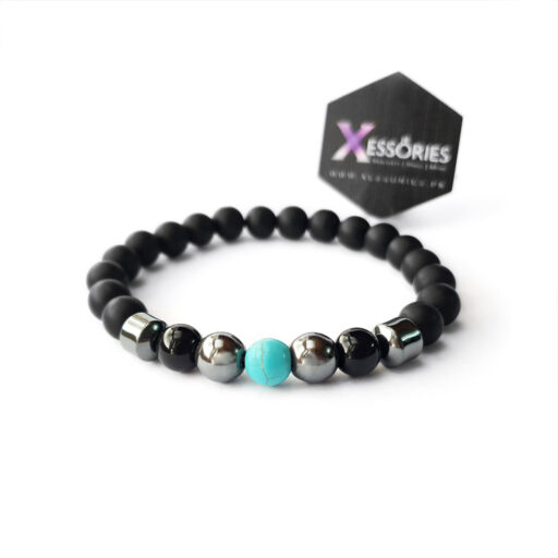the balance turquoise stone bead bracelet in pakistan by xessories