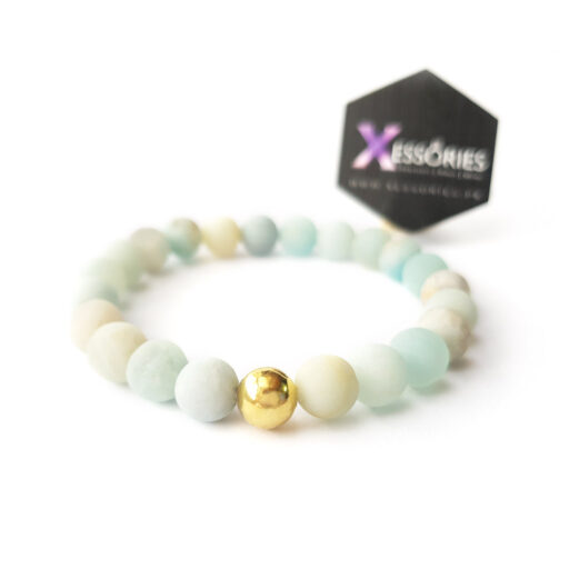 the beach bohemian natural stone bracelet shop in pakistan at xessories
