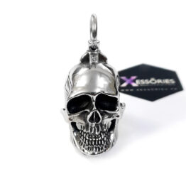 large skull pendant in pakistan by xessories shop online in stainless steel