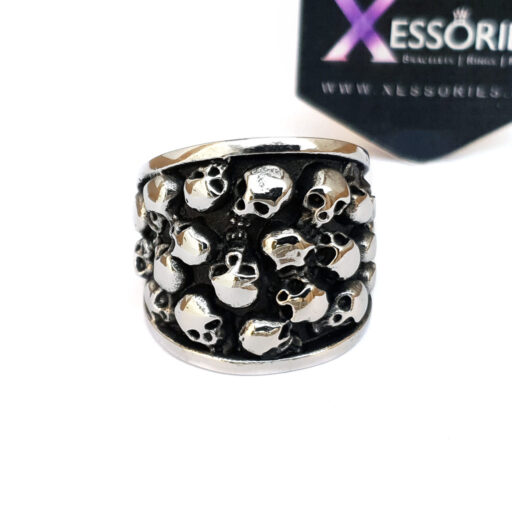 Hell On My Hand Ring in Pakistan by xessories xessories.pk in stainless steel